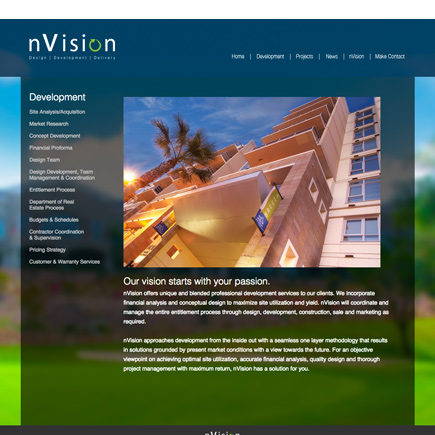 nVision Website